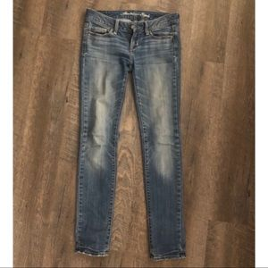 American Eagle Mid-wash Skinny Jeans